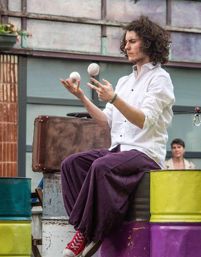 Les représentations du Cirque à Mouscron
