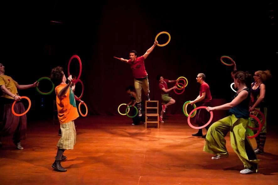 Cirq'en Bulles école de cirque de Mouscron